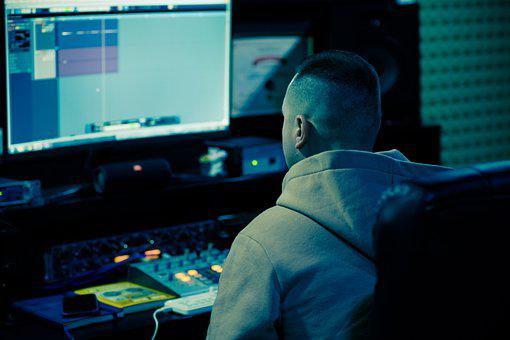 Computer, Man, Work, Office, Monitor, Screen, Desk