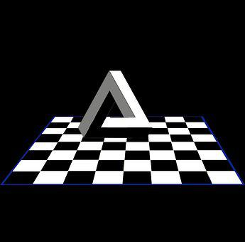 Chessboard, Triangle, Logo, Pyramid, Board Game, Game