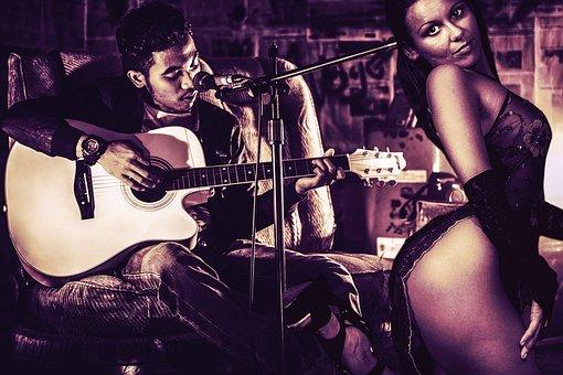 Woman, Musician, Man, Soul, Guitar