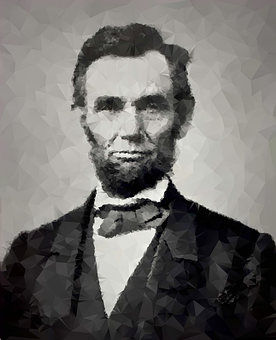 Abraham Lincoln, President, Low Poly