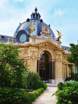 Museum, Building, Petit Palais, Architecture, Facade