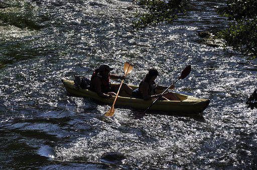 Kayaking, River, Adventure, Canoeing, Boat, Canoe