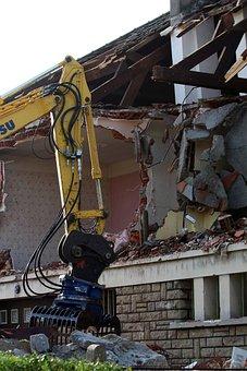 Destruction, House, Building, Demolition, Broken, Ruin
