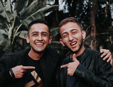 Amigos, Cara Feliz, Gente Sonriendo, Grandes Sonrisas