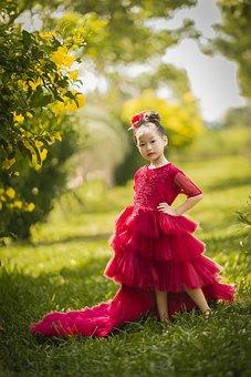 Model, Kid, Girl, Dress, Beautiful, Lovely, Innocent