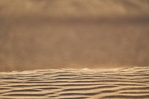 Desert, Sand, Dunes, Sandy, Barren, Dry, Arid, Morocco