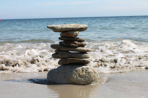 Beach, Rock, Rocks, Sea, Ocean, Shore, Water, Stones