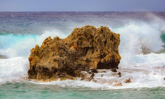 Waves, Rock, Sea, Splash, Spray, Sea Foam