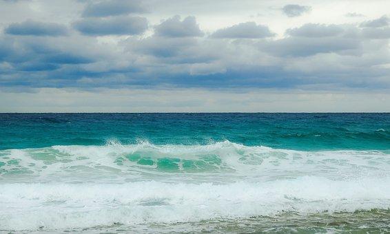 Beach, Sea, Wave, Ocean, Water, Sea Foam, Splash
