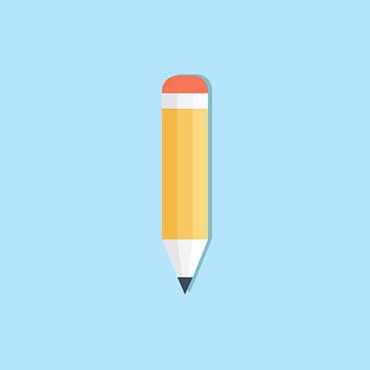 Pencil, Write, Icon, Education, Idea, Student, Study