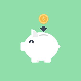 Piggy Bank, Savings, Icon, Money, Finance, Save
