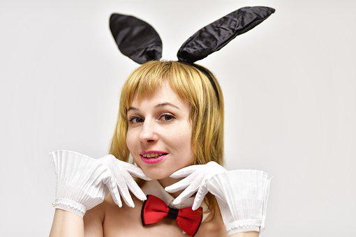 Woman, Model, Playboy, Girl, Costume, Playboy Bunny