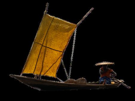 Boat, Indonesian, River, Fishing, Fishing Boat