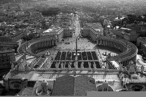 Saint Peter's Square, Landmark, City, Square, Plaza