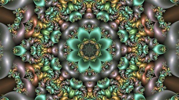 Mandala, Abstract, Gradient, Pattern, Texture, Template
