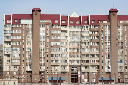 Buildings, Apartments, City, Street, Architecture