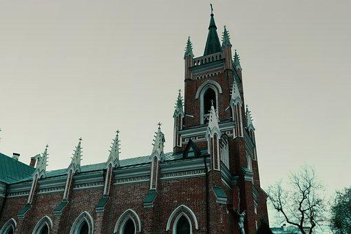 Church, Building, Architecture, Catholic, Religion