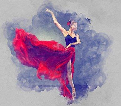 Ballet, Dancing, Ballerina, Woman, Female, Girl, Young