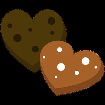 Cookies, Biscuits, Snack, Hearts, Bake, Sweets, Dessert