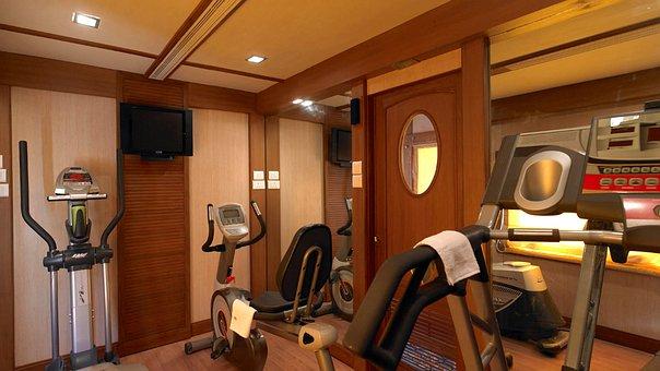 Golden Chariot, Indian Rail, Luxury Train, Gym