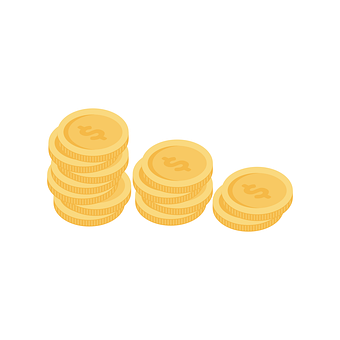 Coins, Graph, Money, Investment, Finance, Wealth