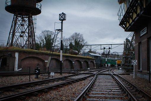 Trains, Rails, Railway, Tracks, Maintenance
