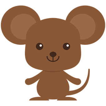 Mouse, Hamster, Rat, Rodent, Whiskers, Cute, Character