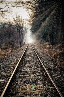 Railway, Tracks, Travel, Rails, Old, Transport