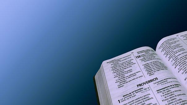 Bible, Open, Book, Religion, God, Christian