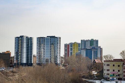 Buildings, Skyscrapers, City, Skyline