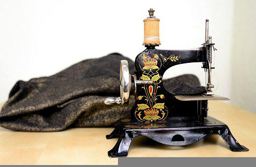 Sewing Machine, Old, Sew, Antique, Tailoring, Craft