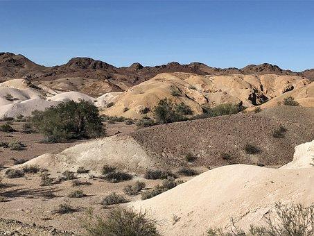 Desert, Arid, Sand, Nature, Dry, Dunes, Badlands, Yuma