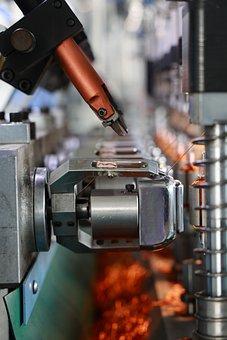 Industrial, Machinery, Equipment, Factory, Metal