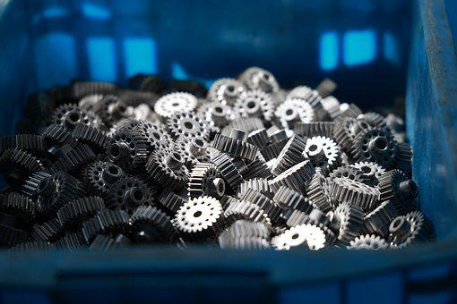 Gears, Parts, Spare Parts, Industrial, Machinery