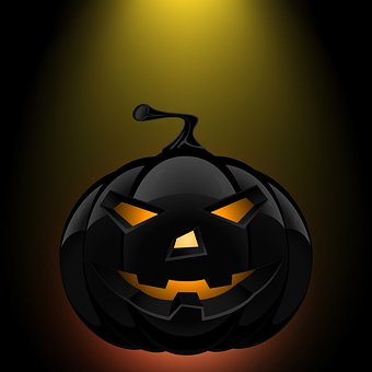 Pumpkin, Halloween, Celebration, Night, Witch, Chilling