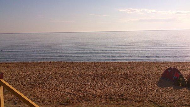 Sea, Beach, Horizon, Sand, Shore, Seashore, Sandy Beach