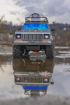 Car, Jeep, Buggy, Toy, Rc, Rc Model, Trx4, Traxxas