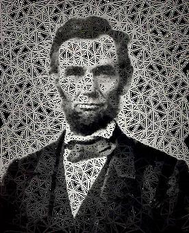 Abraham Lincoln, Man, Low Poly, Portrait, Us President