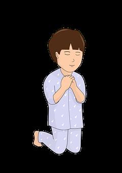 Kid, Kneel, Praying, Boy, Child, Faith, Spiritual
