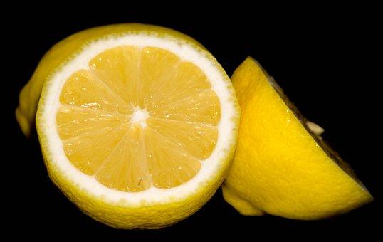 Lemons, Fruit, Food, Citrus, Sliced, Healthy, Vitamins