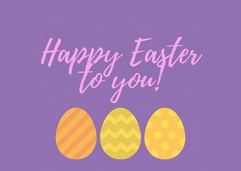 Easter, Greetings, Eggs, Happy Easter, Greeting Card
