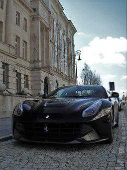 Car, Vehicle, Modern, Luxurious, Ferrari, F12tdf