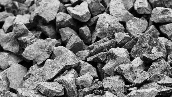 Background, Rocks, Monochrome, Stones, Natural, Nature