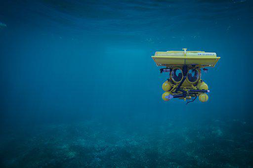Submarine, Submerged, Water, Sea, Underwater, Marine