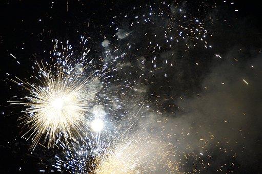 Fireworks, New Year's Eve, Festival, Celebration