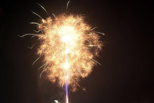 Fireworks, Object, Holiday, New Year' Eve, Celebration