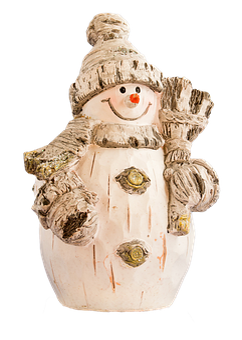 Snowman, Figure, Christmas, Christmas Time, Holzfigur