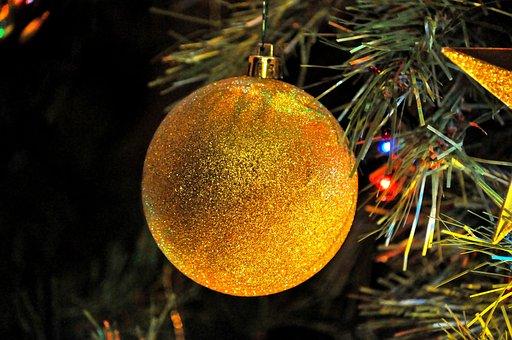 Christmas, Christmas Tree, Ball, Christmas Ball