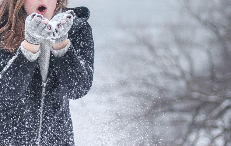 Cold, Snow, Fashion, Woman, Girl, Winter, Model