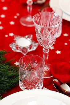 Celebration, Christmas, Crystal, Decoration, Dinner
